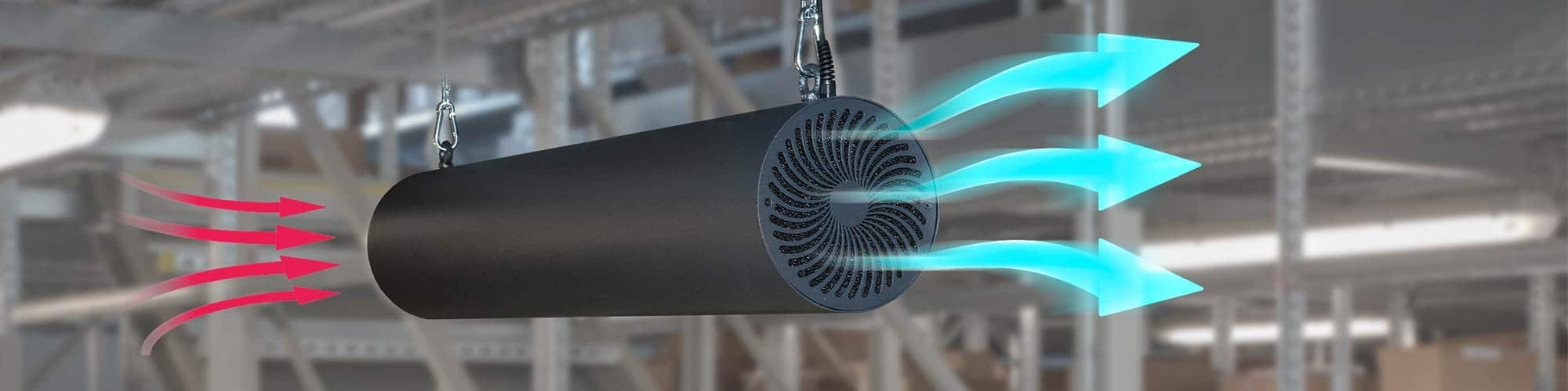 AP-AS UVETTA Suspended UV Air Disinfection System